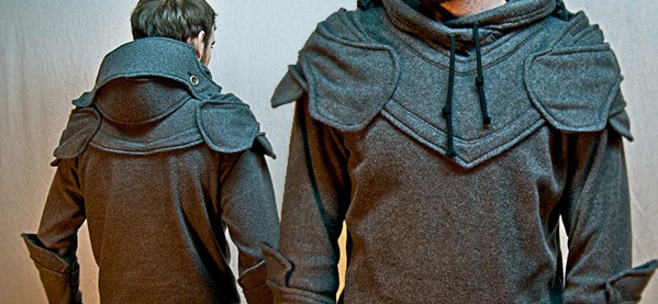 Knight Armor Clothing Hoodie