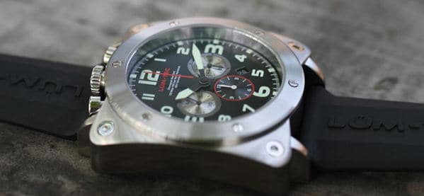Lum-Tec Chronograph Watch