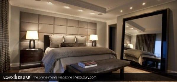 Next Luxury The Best Modern Men S Bedroom Designs A