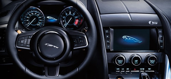 2013 Jaguar F-Type Interior