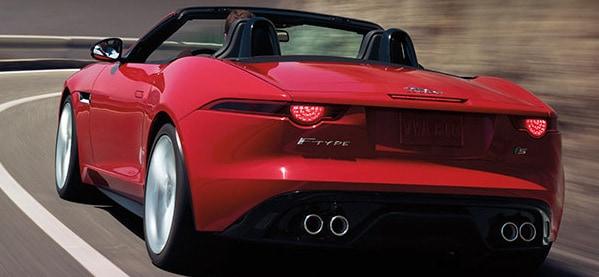 2013 Jaguar F-Type S Rear