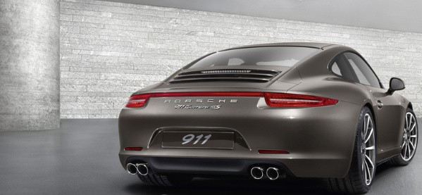 2013 Porsche 911 Carrera 4S Rear