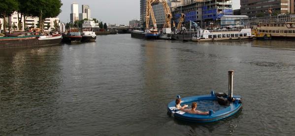 Floating Hot Tub Boat