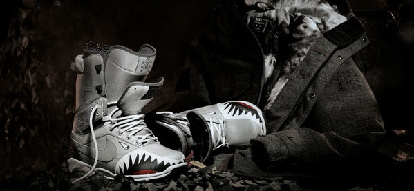 Nike Special Edition Zoom Shark Snowboarding Boots