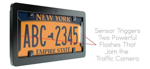 NoPhoto Digital Smart License Plate Frame