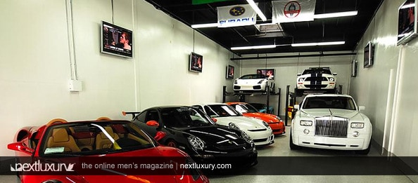 World 39 s best and coolest men s garage designs garage for Cool garage designs