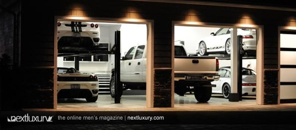 Modern Guy's Garage