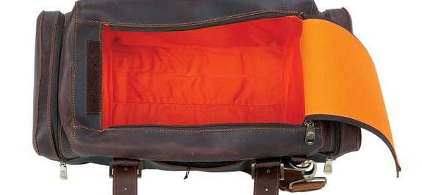 Baron Leather Liverpool Luggage Bag