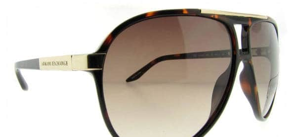 Armani Exchange Ax 149 S Brown Sunglasses For Men