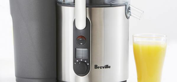 Breville BJE510XL Juice Fountain 900-Watt Juicer Machine