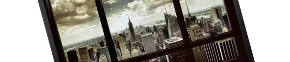 New York City Window Poster