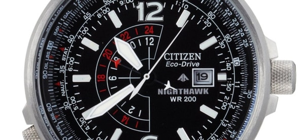Citizen Eco Drive Nighthawk Watch
