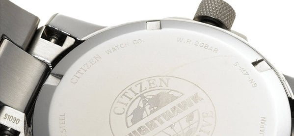 Citizen Men's Eco Drive Nighthawk Chronograph Watch