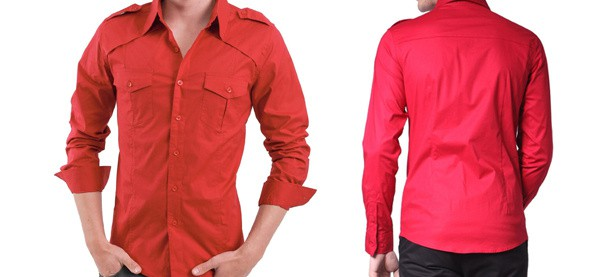 Doublju Mens Casual Shirts