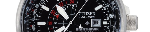 Men's Citizen Eco-Drive Nighthawk Watch