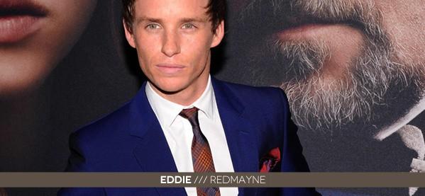 Eddie Redmayne 2013 Style