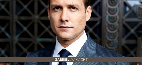 Gabriel Macht Suits Style