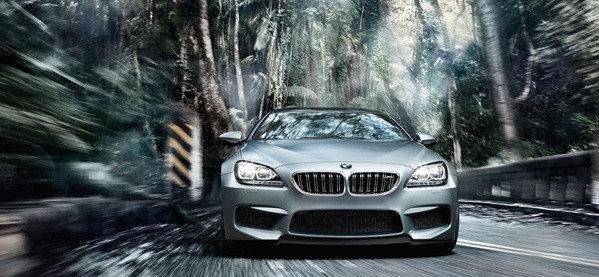 2014 BMW M6 Gran Coupe Front Exterior