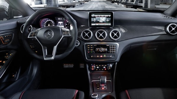 2014 Mercedes-Benz CLA 45 AMG Dash