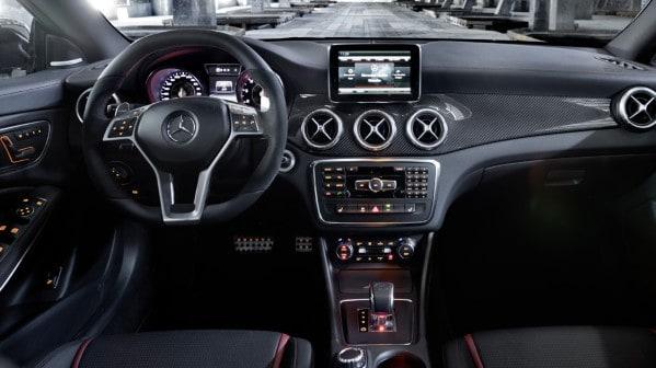 2014 Mercedes-Benz CLA 45 AMG Dash