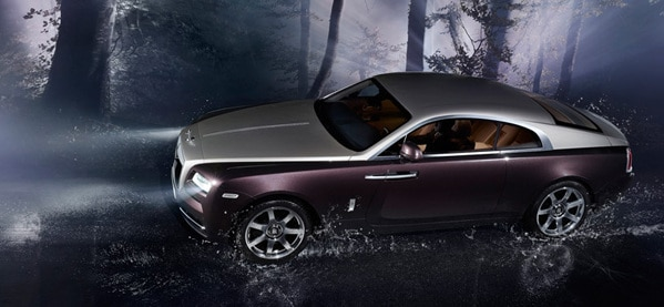 2014 Rolls Royce Wraith Four Passenger Vehicle