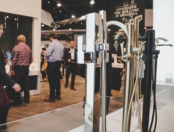2019 Kbis Bathtub Filler Moen Display