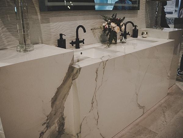 2019 Kitchen And Bath Show Vegas Marble Bath Vanity