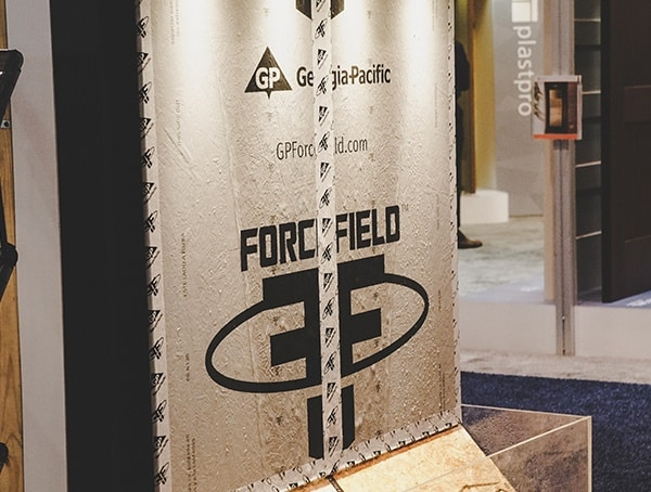2019 Nahb Show Georgia Pacific Forcefield Sheeting Panels