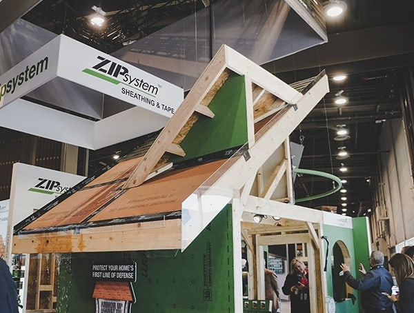 2019 Nahb Show Zip System Roofing Sheathing