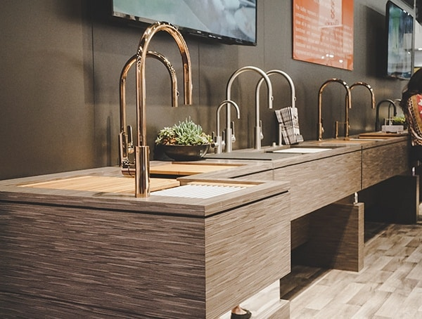 2019 National Kitchen And Bath Show Sink Faucets Display