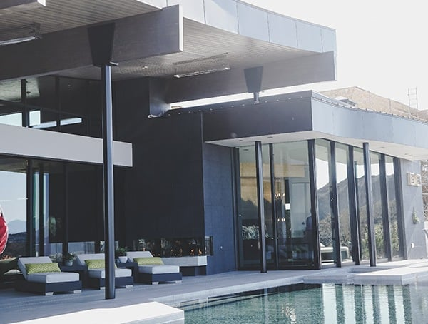 2019 New American Home Outdoor Pool