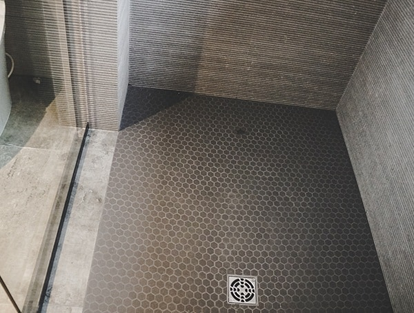 2019 New American Remodel Home Guest Bathroom Shower Tile