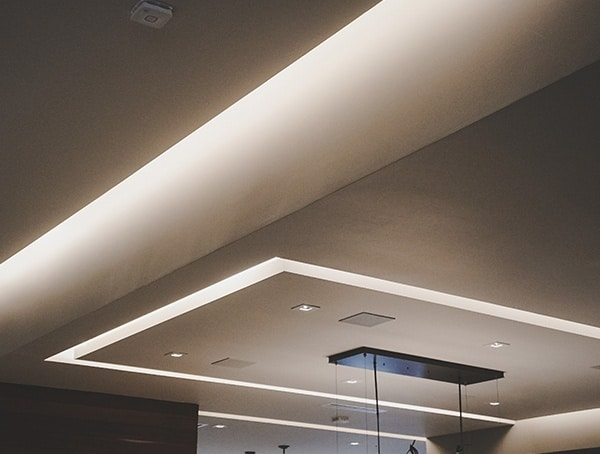 2019 New American Remodel Home Modern Led Ceilings