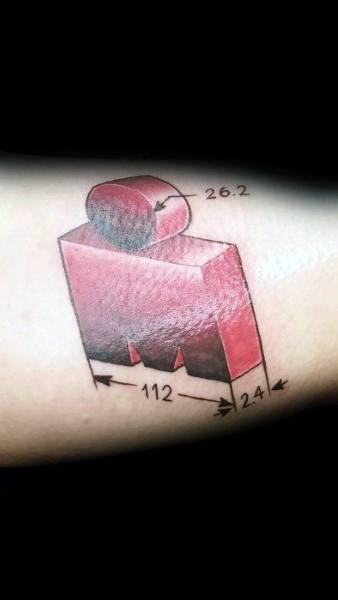 26 2 Tattoo Inner Arm Bicep Ironman Design