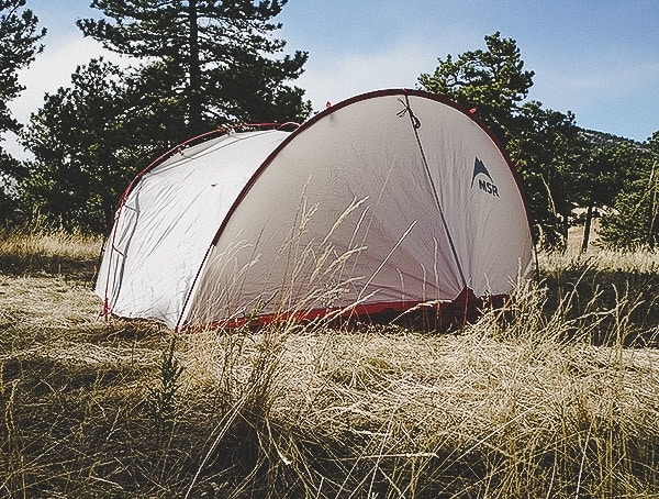 3 Person Msr Hubba Tour Tent Field Test