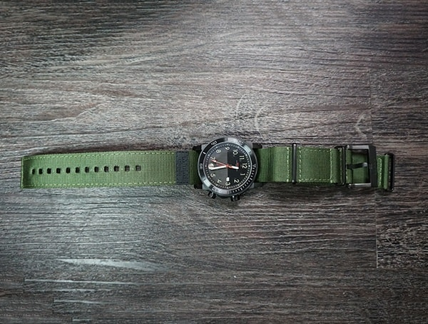 316l Solid Stainless Steel Mtm Special Ops Hypertec H 61 Watch