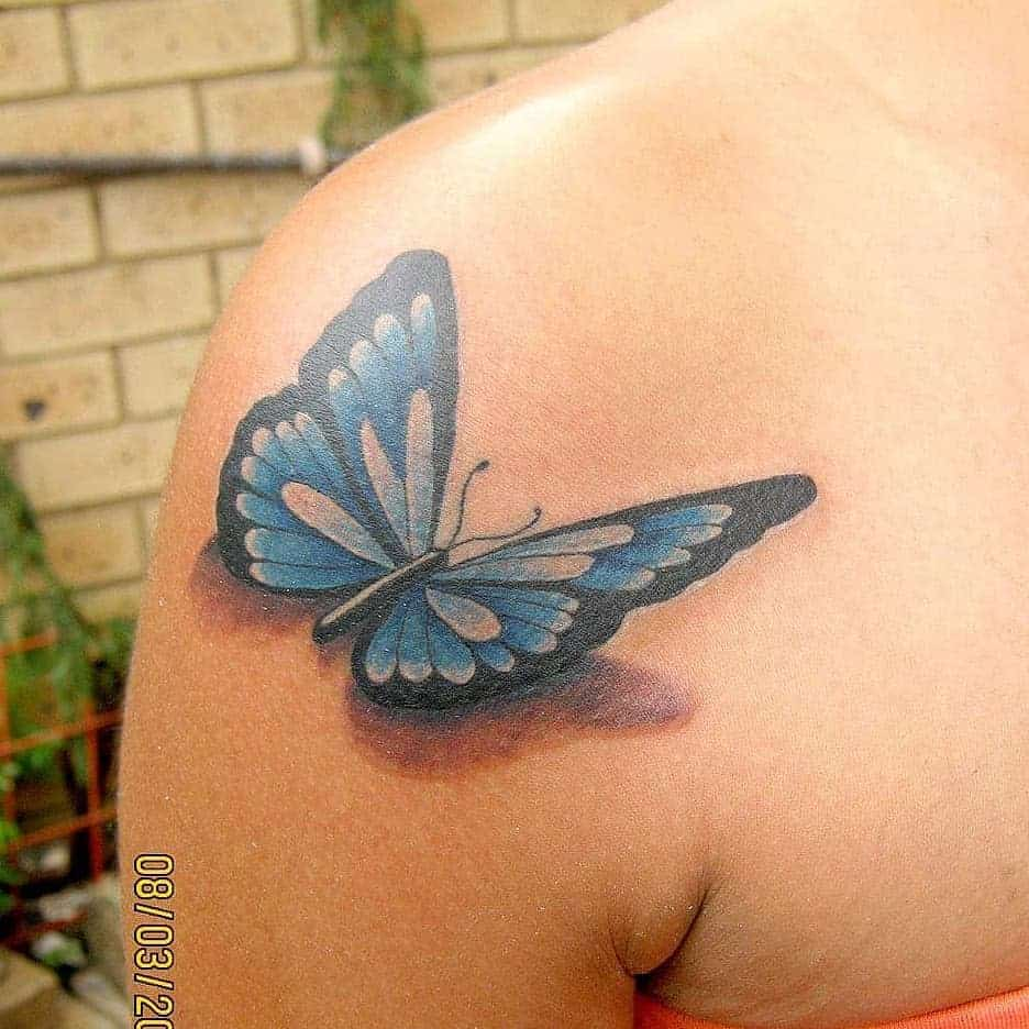 3D Butterfly Tattoo insane_shades