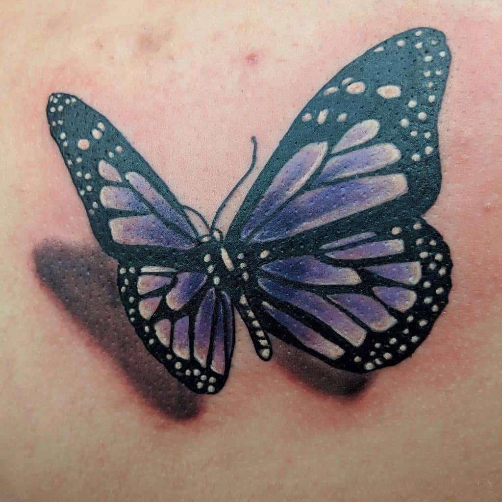 3D Purple Butterfly Tattoo jess_schneider72