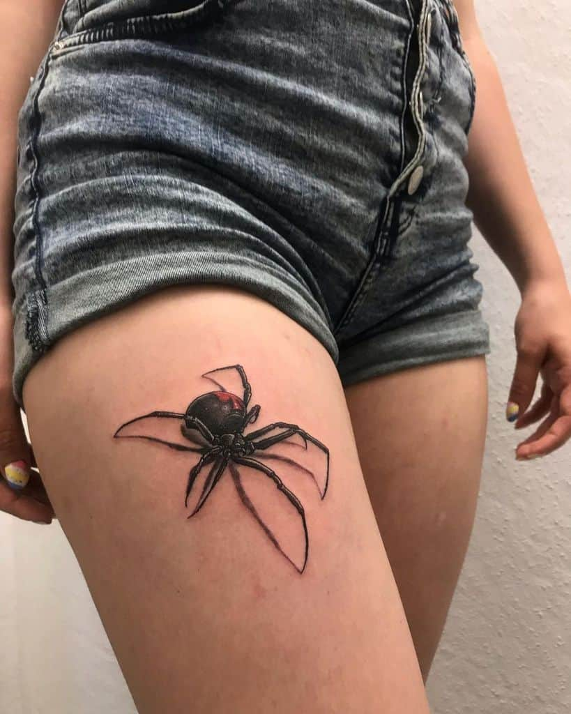 3D Spider Leg Tattoo lylicious.ink