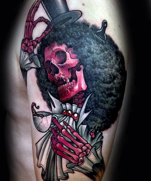 3d Arm Cool Male One Piece Tattoo Designs
