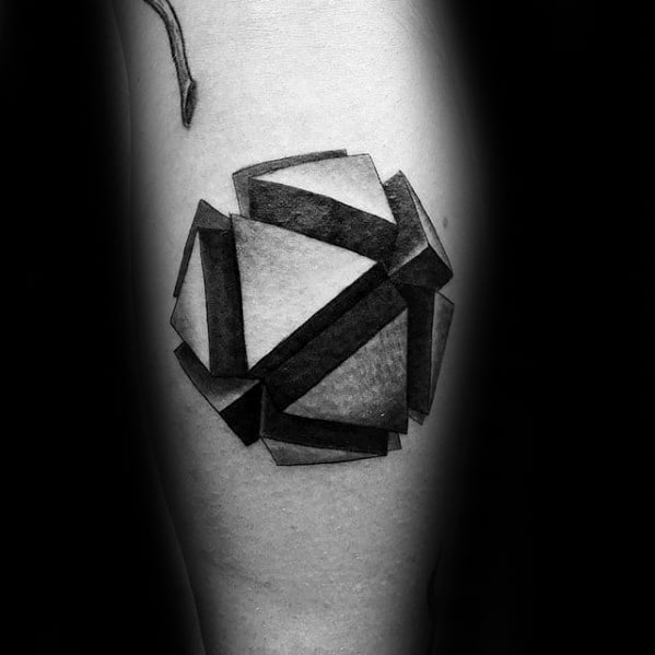 Tattoo Small Ball: 50 Small Geometric Tattoos For Men