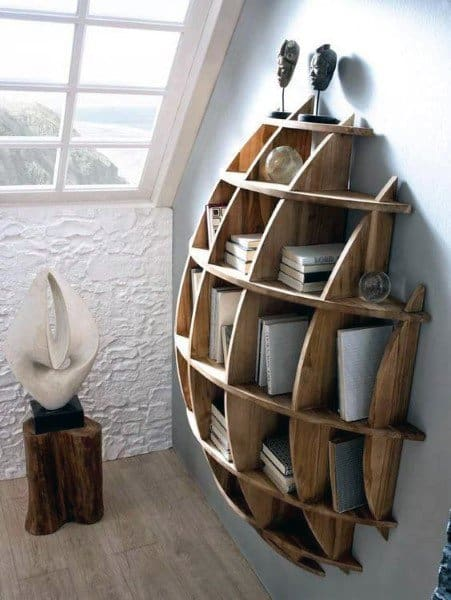 3d Bookshelf Ideas
