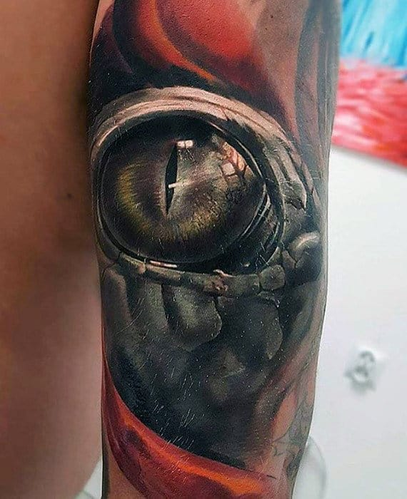 3d Eye Different Guys Arm Tattoo Sleeve