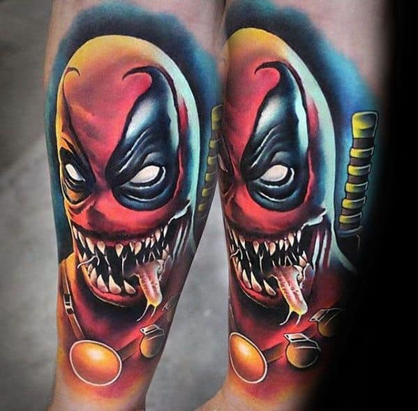 60 venom tattoo designs for men marvel ink ideas for Marvel comics tattoos