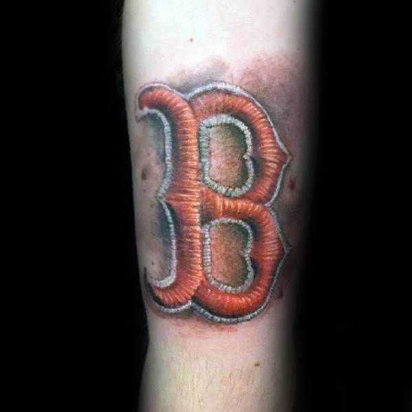 3d Forearm Unique Mens Boston Red Sox Tattoos