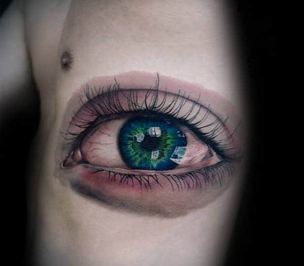 50 Realistic Eye Tattoo Designs For Men