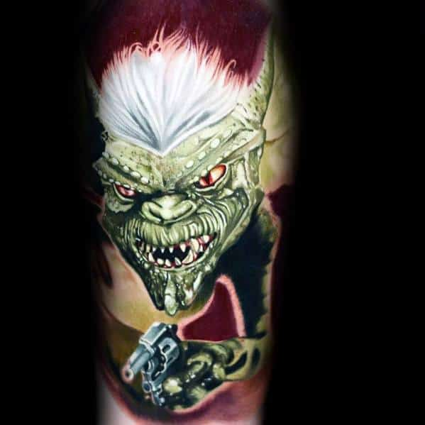 3d Gremlin Tattoo Designs For Gentlemen