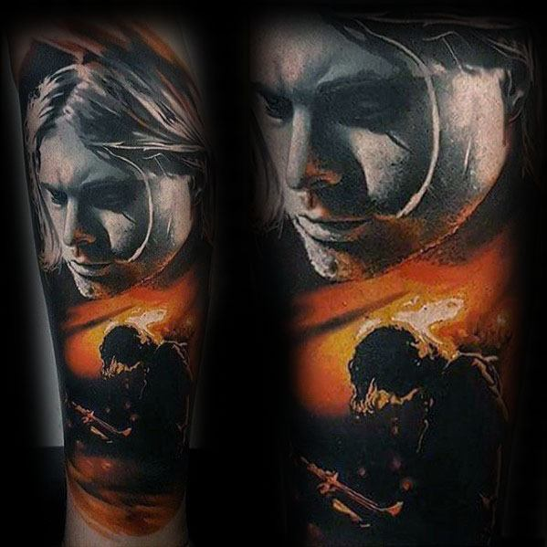 3d Guys Tattoo Ideas Nirvana Designs