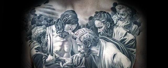 3d Jesus Tattoo Designs For Men