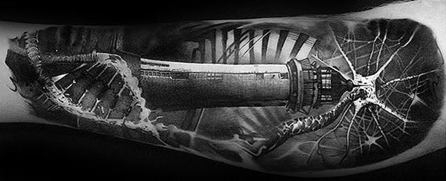 3d Leg Tattoo Designs For Men